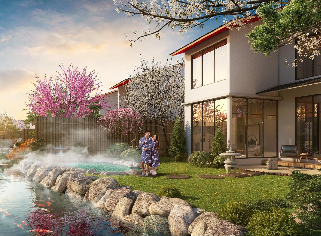Biệt thự dự án SUn Onsen Village