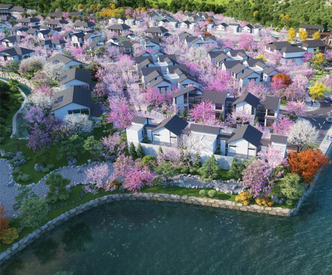 Khu biệt thự dự án Sun Onsen Quang Hanh