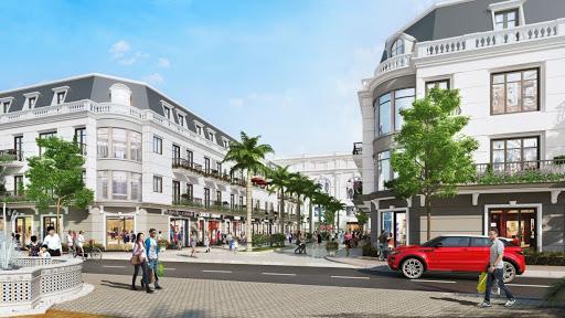 Khu nhà Shophouse dự án Sungroup Quang Hanh
