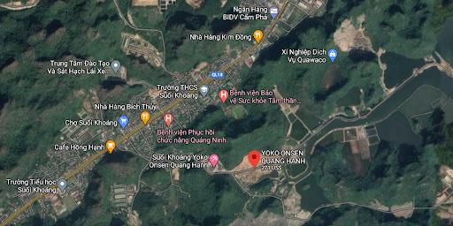 Vị trí dự án Sun Group Quang Hanh