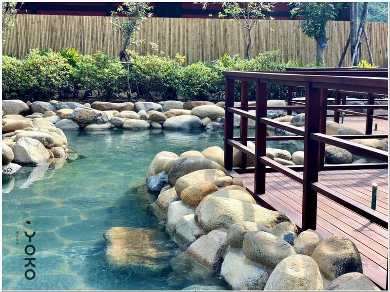 Bể tắm dự án suối khoáng Yoko Onsen Quang Hanh