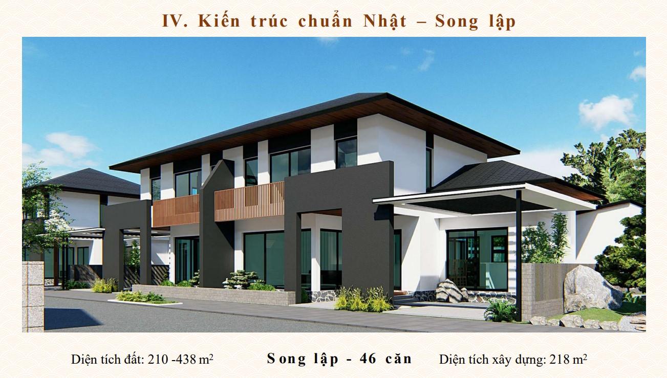 Biệt thự Song lập dự án Sun Onsen Quang Hanh