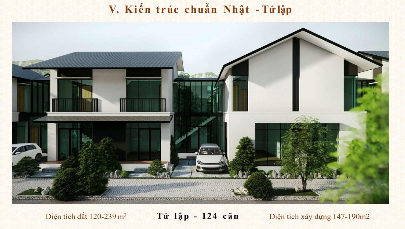 Biệt thự dự án Sun Onsen Quang Hanh