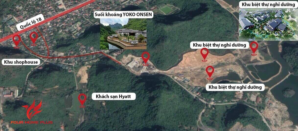 Vị trí dự án Sun Onsen Quang Hanh