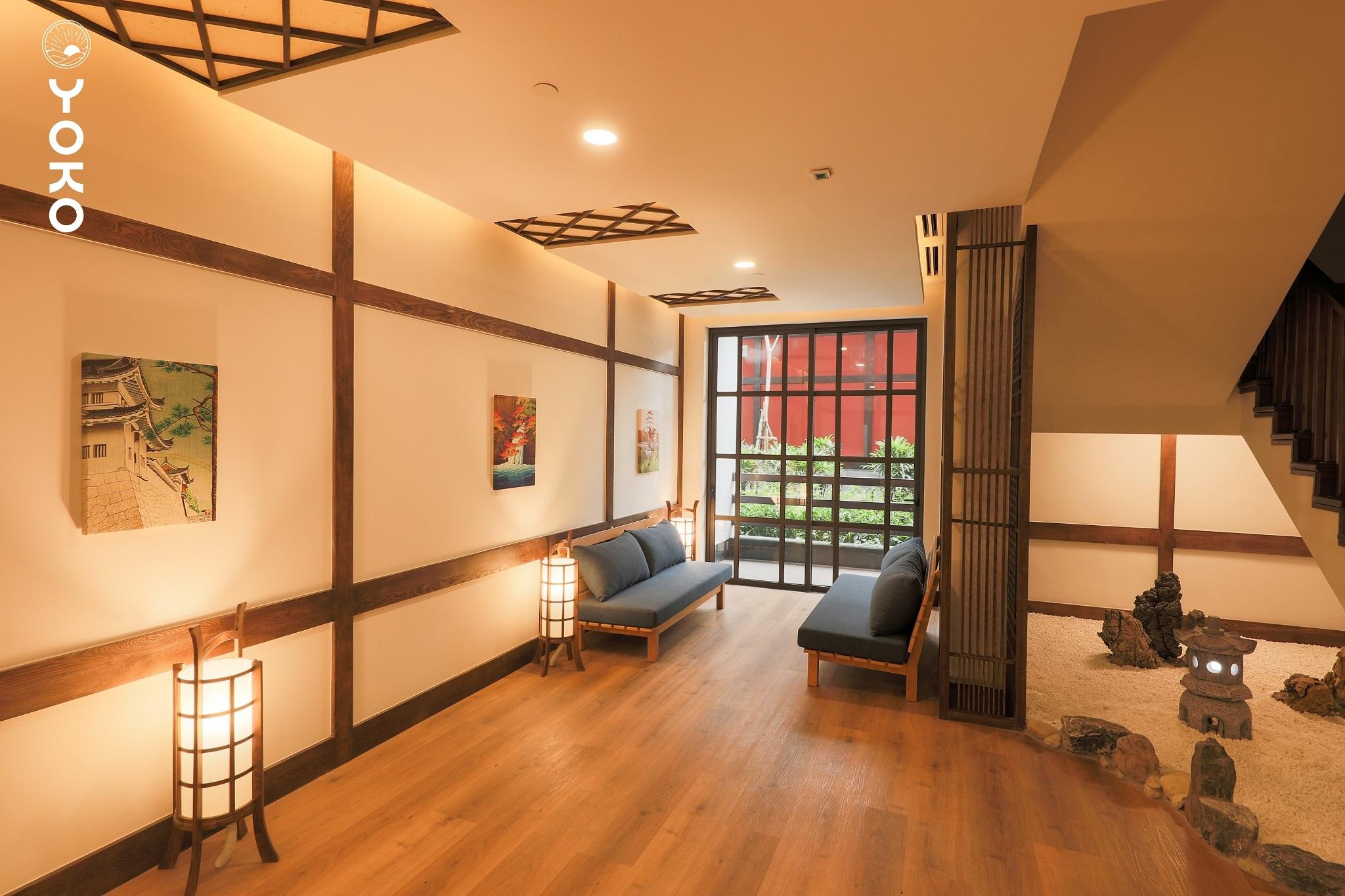 Phòng nghỉ khu suối khoáng Yoko Onsen Quang Hanh