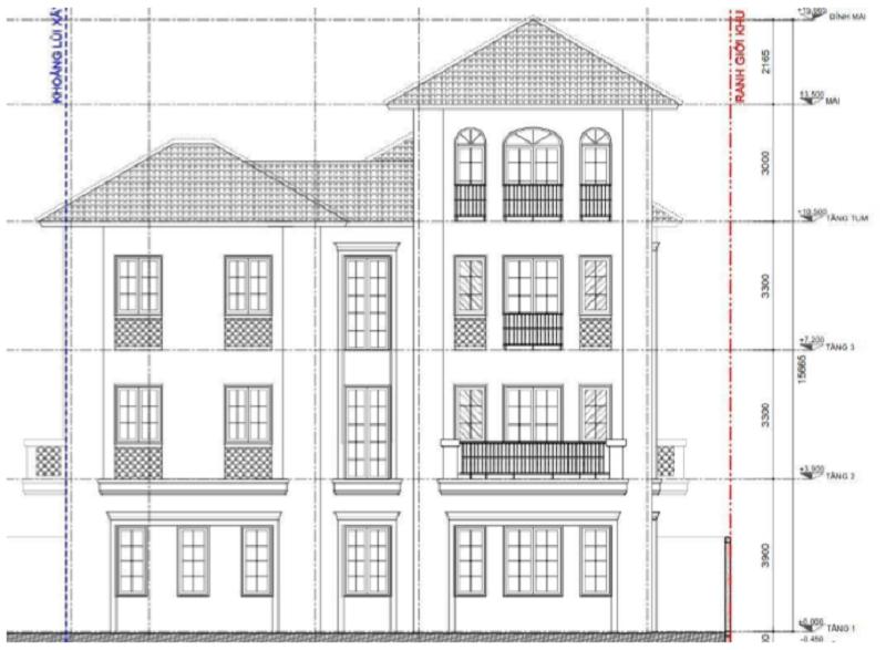 Thiết kế layout biệt thự dự án Sun Group Quang Hanh