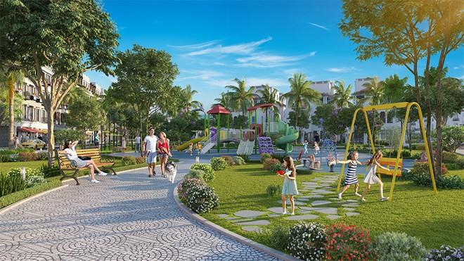 Tiện ích khu Biệt thự song lập dự án Sun Group Quang Hanh