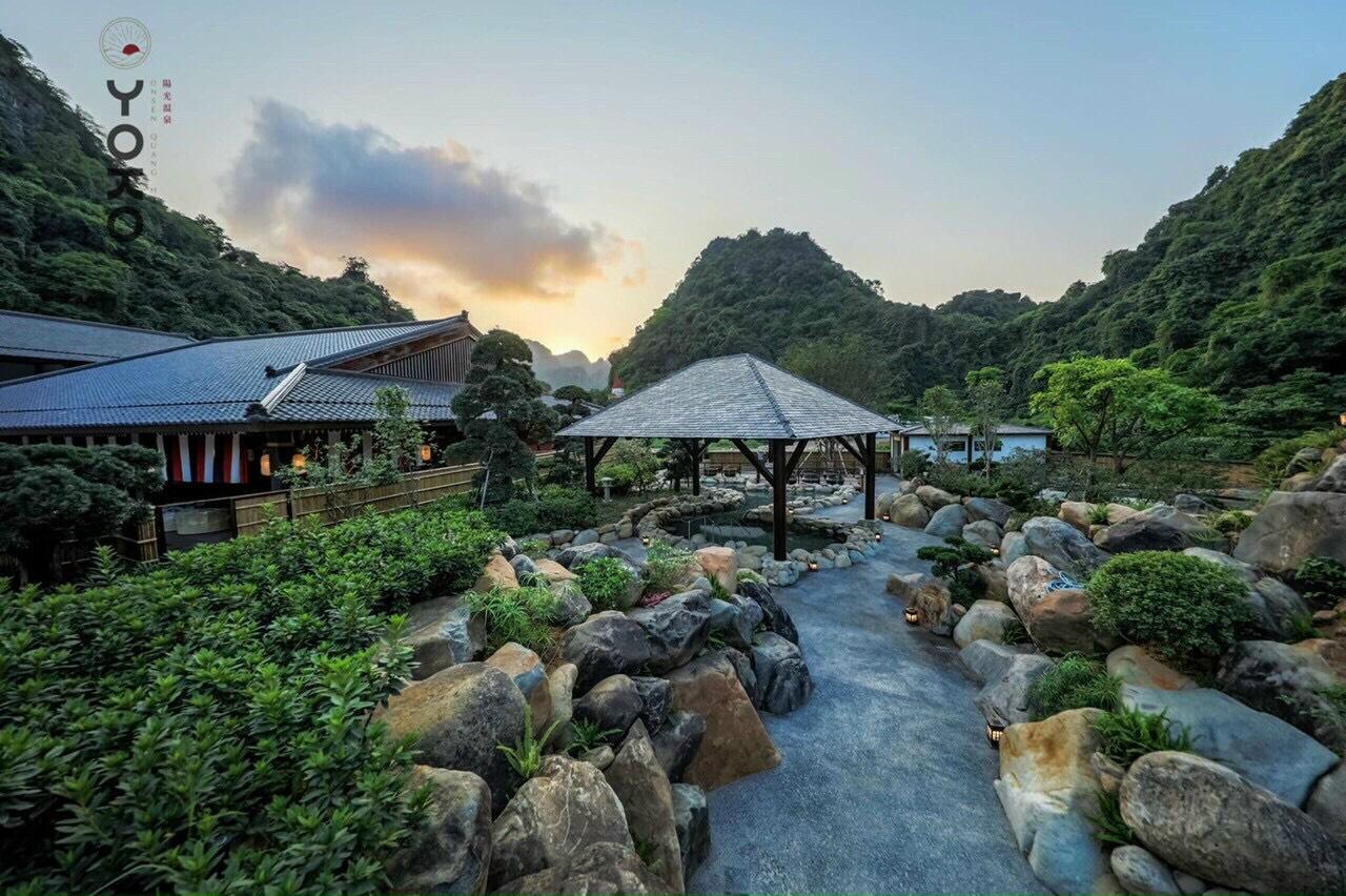 Vườn dự án Sun Onsen Quang Hanh